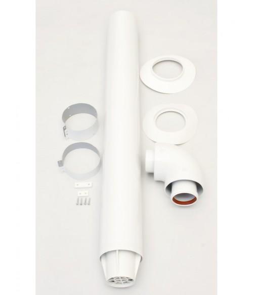 Коаксиальный дымоход для котлов Ariston D 60/100-1000мм