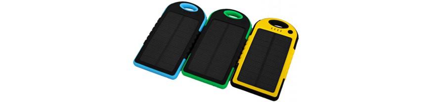 Внешний аккумулятор (Power Bank) с солнечной панелью