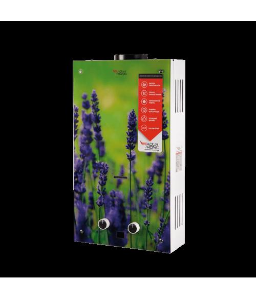 Газовая колонка Aquatronic  JSD20-AG108 10 л стекло (цветок)