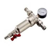 Самопромывной осадочный фильтр SD FORTE SF 127W15 с манометром