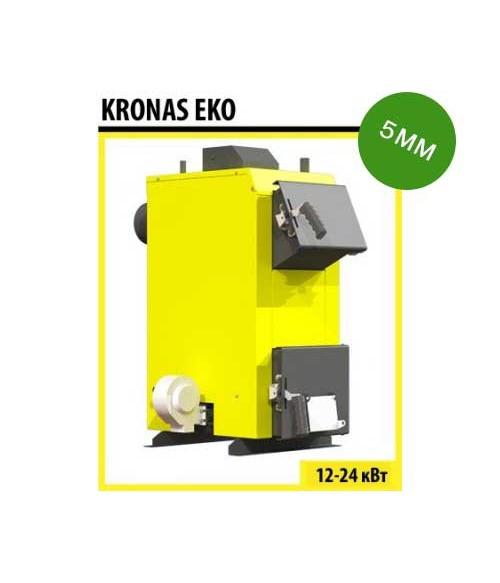 Котел твердотопливный KRONAS EKO 16 c автоматикой и вентилятором