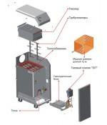 Газовый котел Атем Житомир-3 КС-ГВ-025 СН