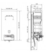 Газовая колонка Bosch Therm 4000 O W 10-2P